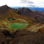 Hiking Trail: Tongariro Crossing, New Zealand
