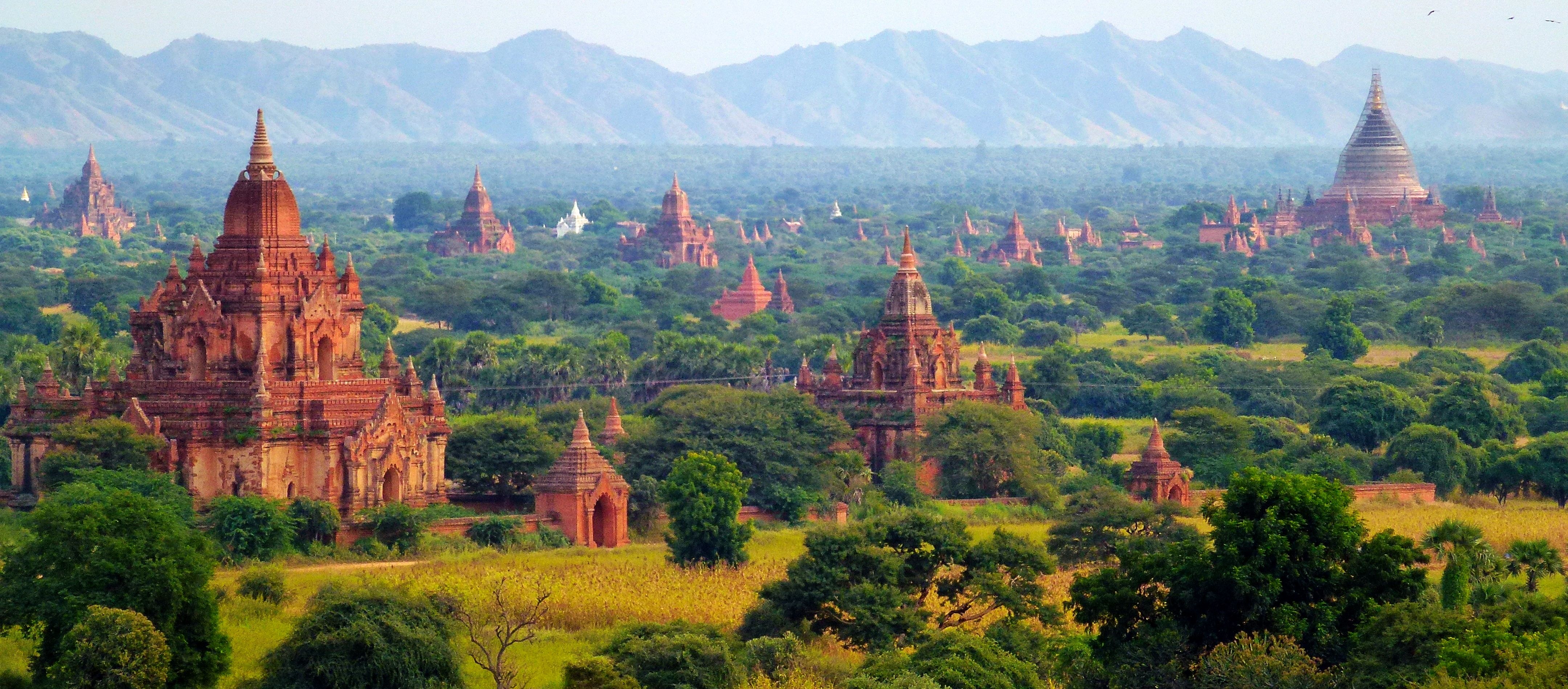 about bagan pagodas