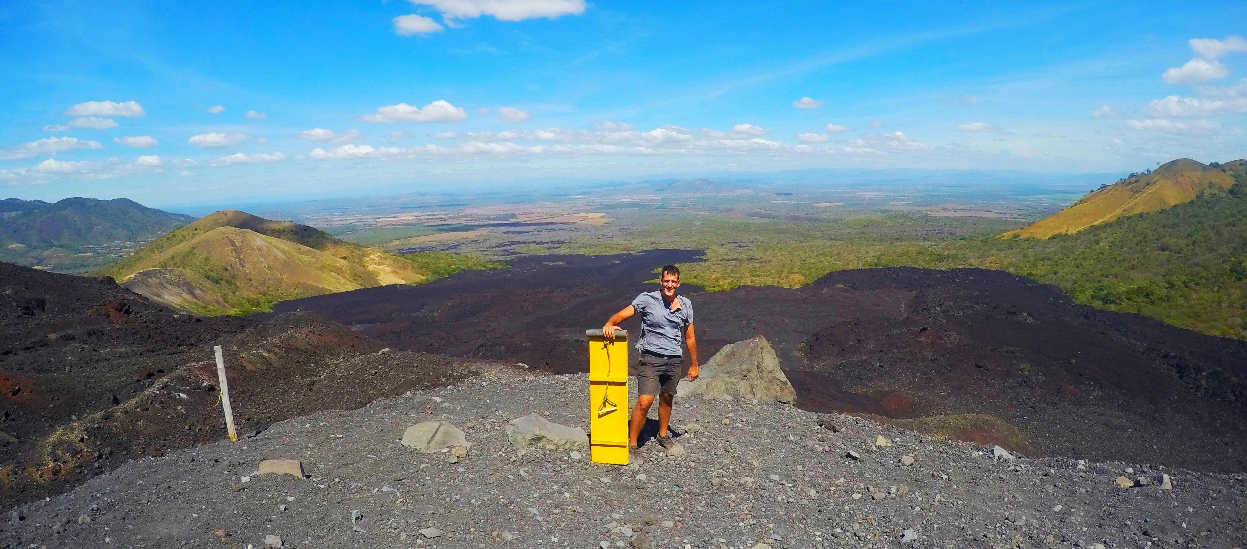 Volcano Boarding is Crazy Fun!
