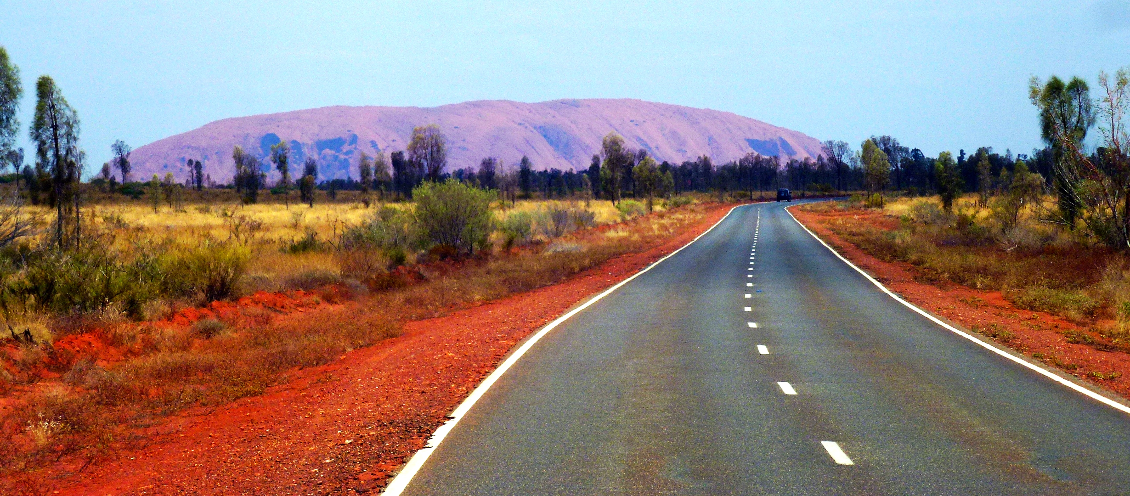 To The Red Centre of Australia: Uluru